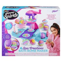 Shimmer And Sparkle Spa Creations Bath Bomb Maker Playset