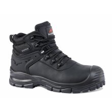 Rockfall RF910 Surge Safety Boots Black Leather