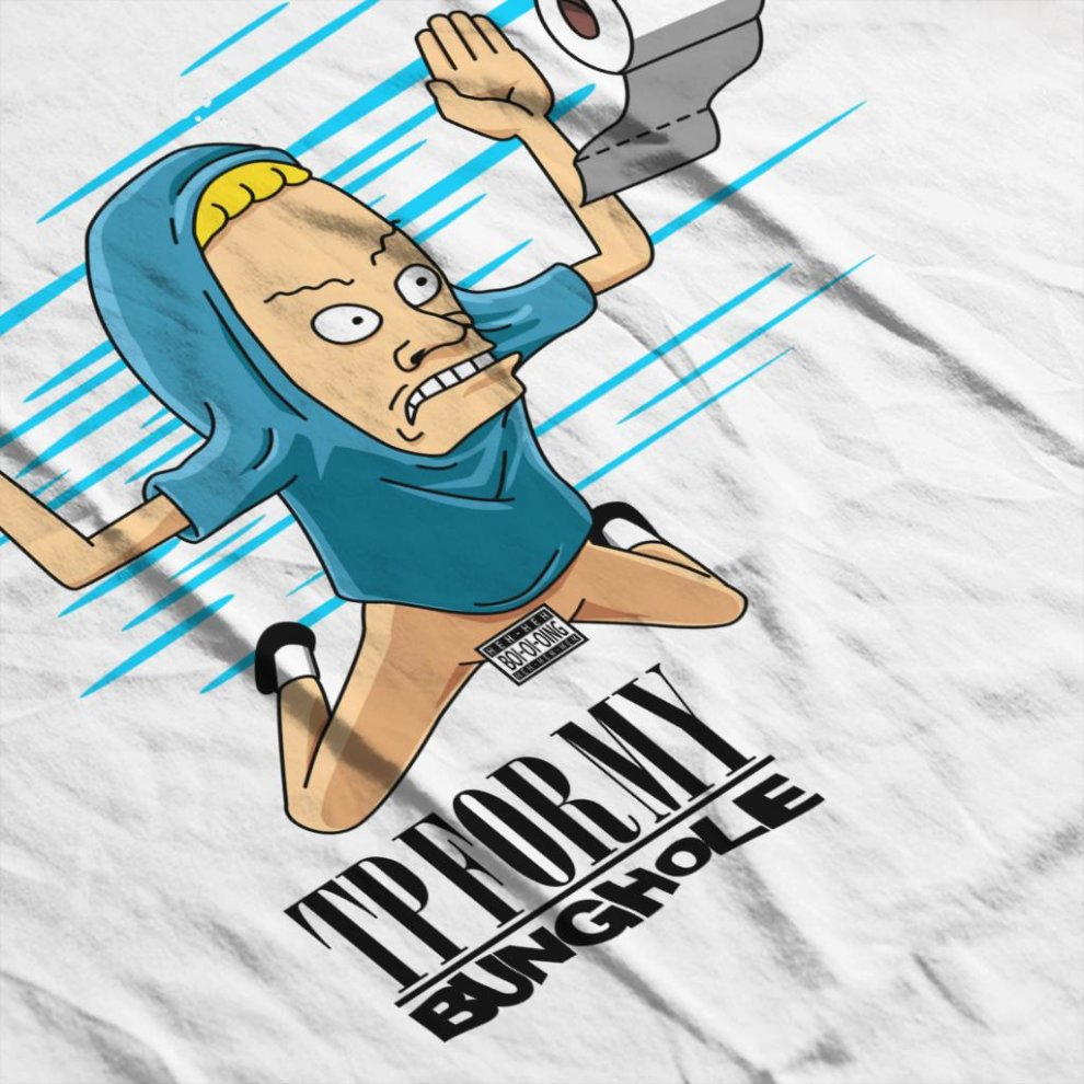 I Need TP For My Bunghole - Beavis And Butthead T-shirt
