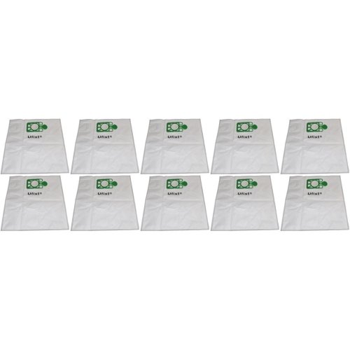 3 Pack Reusable Zip Up Cloth Bags for Henry NRV200 NRV200-22 HVR200M-22 Vacuum