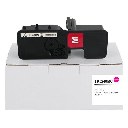 Compatible TK5240M Toner Cartridge For Kyocera Mita P5026 Magenta TK5240M
