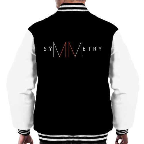 Maths And Science Symmetry Men's Varsity Jacket