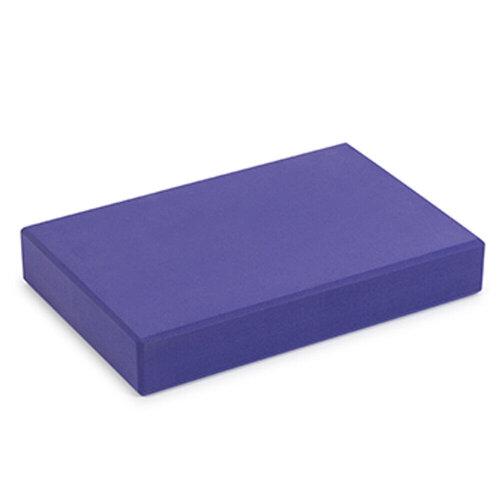 (Purple) Yoga Studio EVA Yoga Block | Lightweight Exercise Prop