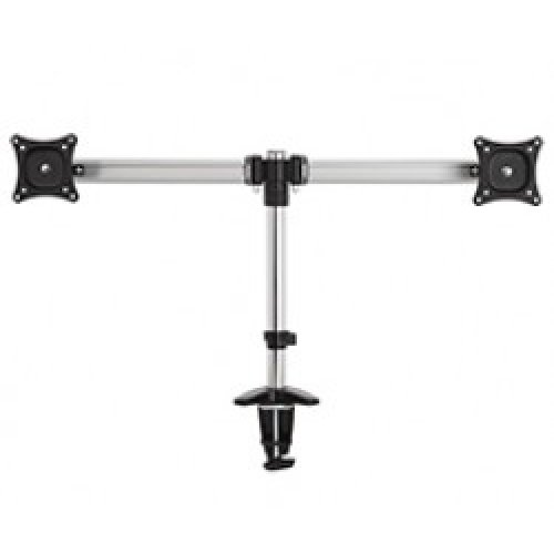 "King Double Screen Arm Tilt & Turn PC TV Screen Desk Mount 13""-35"" VESA 200 x 200 by TV Furniture Direct"
