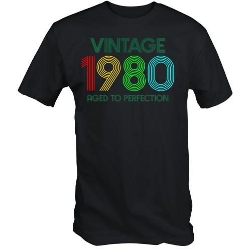 40th Birthday T Shirt Vintage 1980 T Shirt 40th birthday gifts