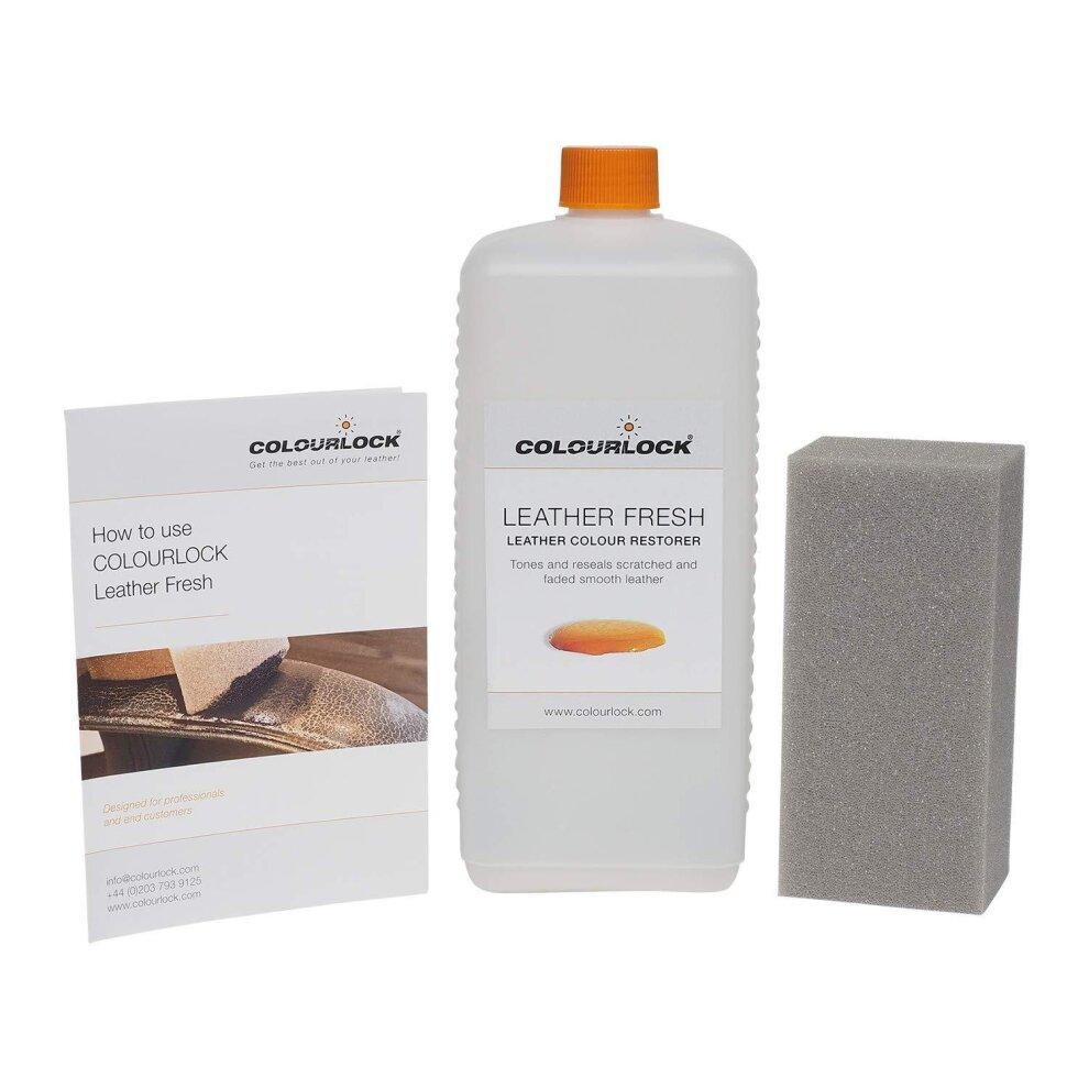 Colourlock Leather Fresh Dye DIY Repair Colour, dye ...
