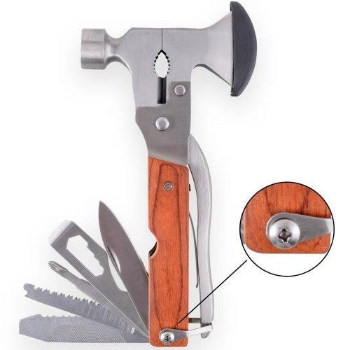 Alpinewolf Steel 16-in-1 Multi-Functional Hatchet Tool