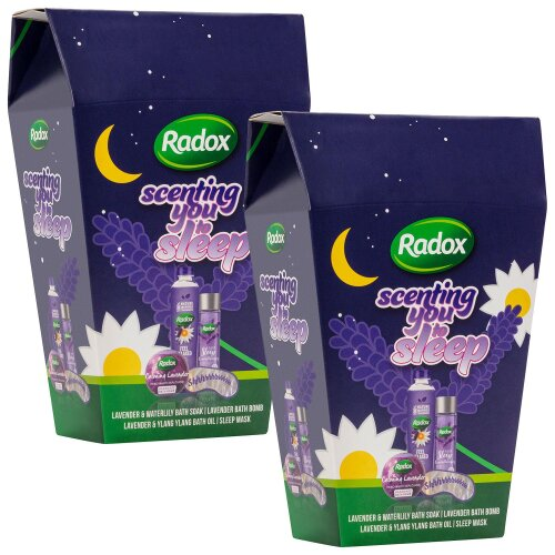 (Buy 2) Radox Scenting You To Sleep Shower & Bath Gift Set For Mum, Women, Kids