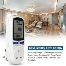Electricity Power Consumption Meter Energy Monitor Watt Kwh Analyzer