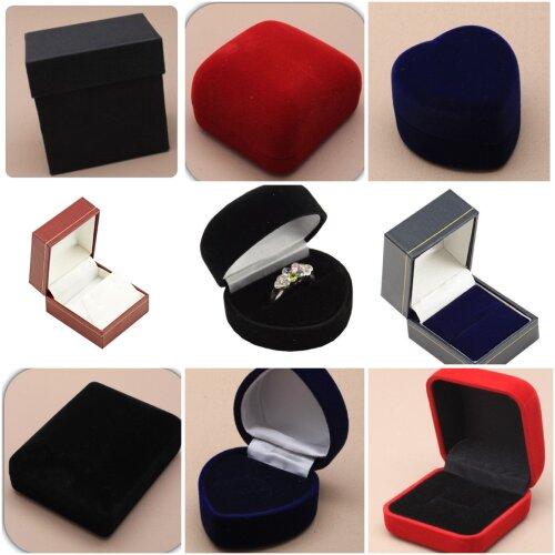 Gift Box Ring Earring Bracelet Watch Box Bangle Heart Box Various