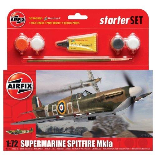 Air55100 - Airfix Small Starter Set - 1:72 - Spitfire Mkia