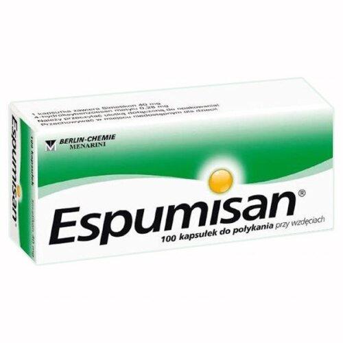 Espumisan 40 mg, 100 capsules,