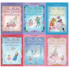 James Mayhew 6 Books Collection Set Ella Bella Ballerina Series