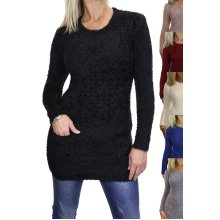 Stretch Textured Knit Jumper With Pockets 6-16