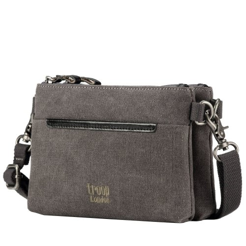 TRP0509 Troop London Classic Canvas Small Across Body Bag