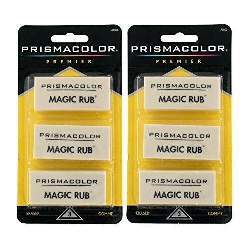 Sanford Prismacolor Magic Rub Eraser (SAN70503),2 Pack