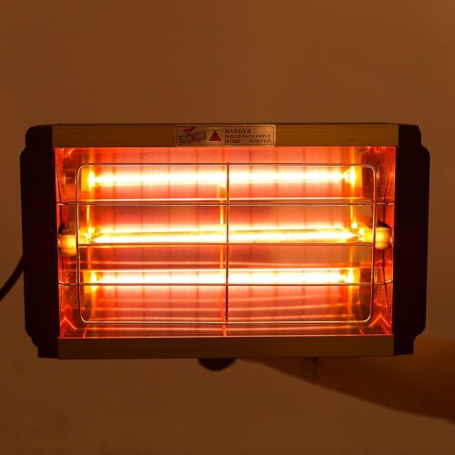 (UK) Car Paint Curing Drying Lamp Body Infrared Handheld Halogen Heater Light Shortwave
