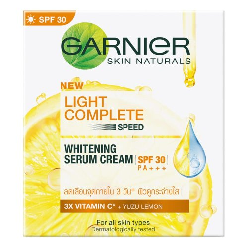 Garnier Light Complete White Speed Whitening Serum Day Cream 50g