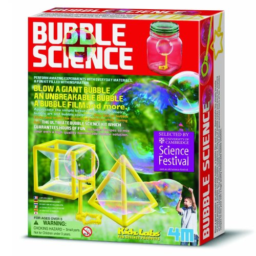 Bubble Science - Kidz Labs Childrens Creative Set