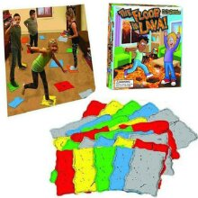 Lava jumping! The Floor is Lava! Play Board Game Toy For Kids Adults Christmas