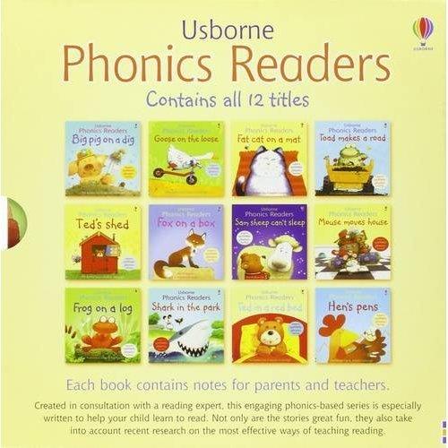 Usborne Phonics Readers - 12 Book Set