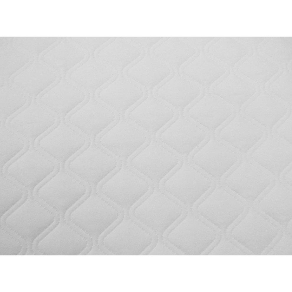 SUZY® Made to Measure Microfibre Hypoallergenic Crib Mattress SQUARE CORNERS
