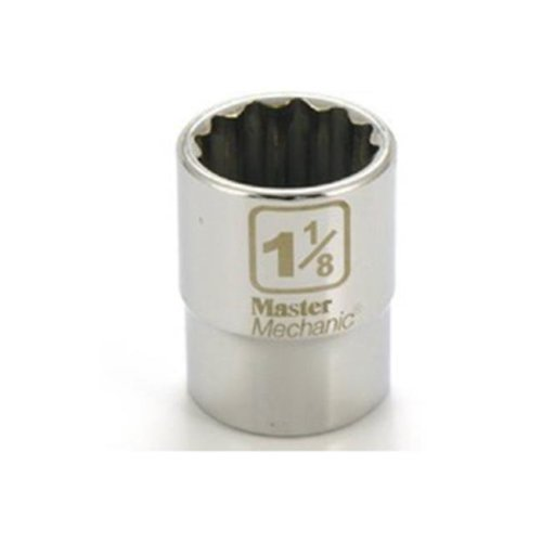 Apex Tool Group 351452 0.75 in. Drive Master Mechanic 1.13 in. 12 Point Socket