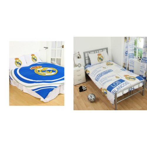 Real Madrid CF Official Reversible Pulse Duvet Set