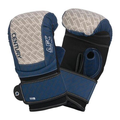 Brave Neoprene Bag Gloves S/M - Silver/Navy - Punch, MMA, Boxing, Gym