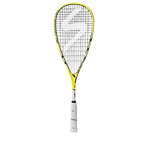 Salming Forza Pro Squash Racquet YellowWhite