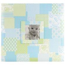 12 x 12 in. Baby Post Bound Album - Blue
