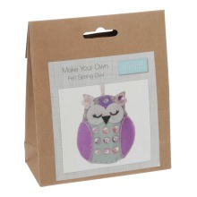 Felt Decoration Kit: Spring Owl