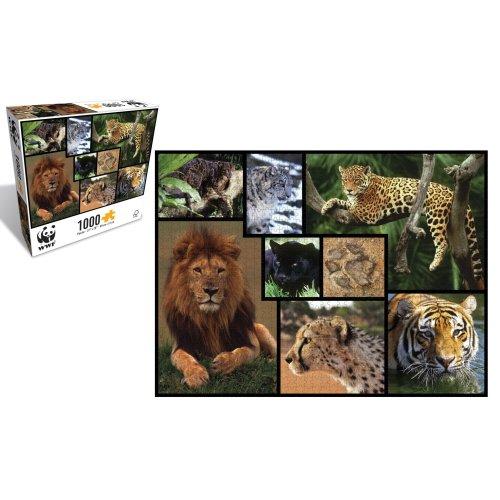 Wild Cats 1000 Piece Puzzle - WWF