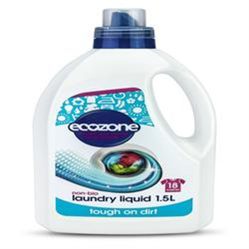 Ecozone Non Bio Laundry Liquid 1500ml  Free From: - Dyes - Phosphates