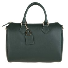 30x23x18 - Leather Boston Bag - Made in Italy