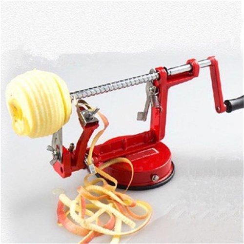 Fruit Potato Pear Peeler Steel Apple Cutter Parer Dicer Slinky Slicer