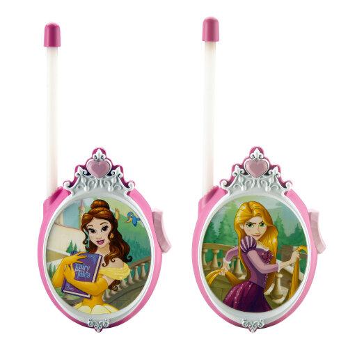 Disney Princess Kids Walkie Talkies with Repunzal, Belle, Crown