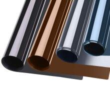 Privacy Window Film One Way, Heat Control Window Mirror Tint Flim, Anti UV Self adhesive Window for Home and Office