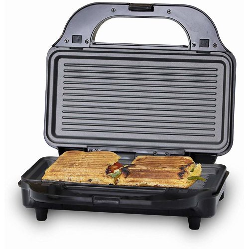 Tower T27020 3-in-1 Grill, Sandwich and Waffle Maker, Aluminium, 900 W