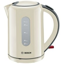 Bosch TWK76075GB Village Collection 1.7 Litre Kettle, Cream
