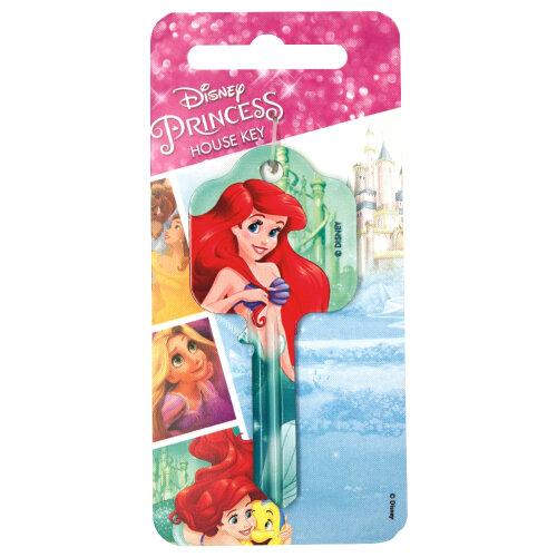 Disney Princess Ariel The Little Mermaid Universal UL2 6-Pin Cylinder Key Blank