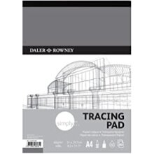 Daler Rowney Simply Tracing Pad A4 60GSM 40 Sheets
