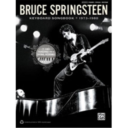 Alfred 00-37372 BRUCE SPRINGSTEEN KEYBOARD 73-80