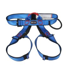 Professional Outdoor Sports Safety Belt Rock Mountain Climbing Harness Waist Support Half Body Harness Aerial Survival