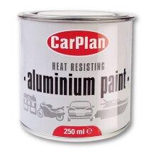 CarPlan Heat Resistant Aluminium Paint - 250ml