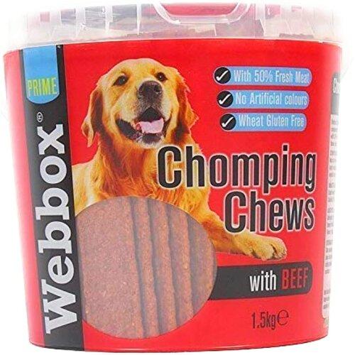 Webbox Meaty Chomping Chews, 1.5kg