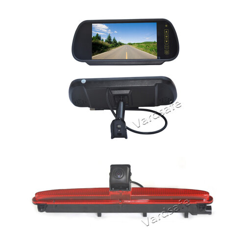 7 Inch Replacement Rear View Screen Display & Reverse Camera for Iveco Daily Van (2014 - Current)