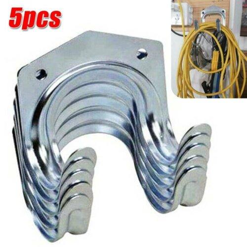 5/10Pcs Hanger Hooks Set Tools Garage Shed Hanging Bracket Garden Storage Kit