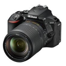 Nikon D5600 + AF-S 18-140 VR DSLR Camera - Black
