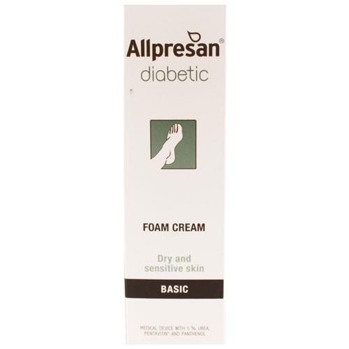 Allpresan Diabetic Basic Foam Cream 125ml